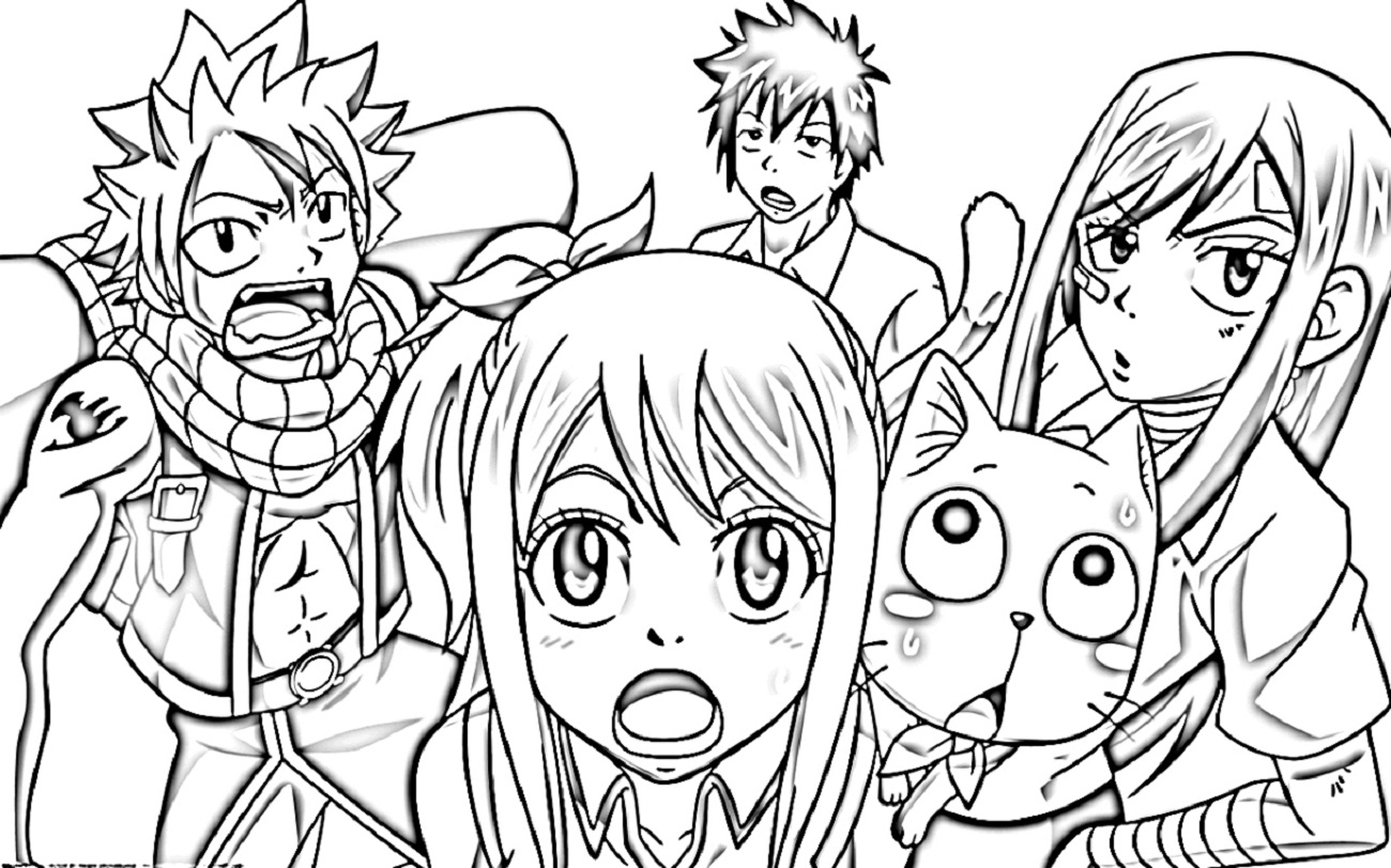 fairy tail coloring sheets happy fairy tail coloring pages coloring pages coloring sheets tail fairy