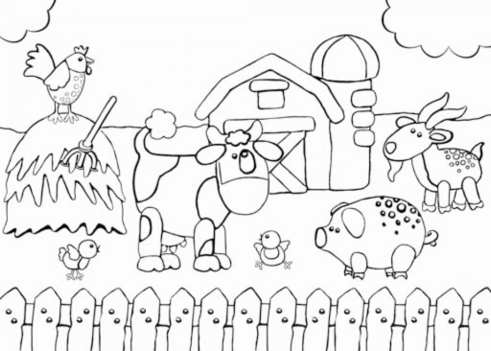 farmers coloring farm color page coloring pages for kids family people farmers coloring