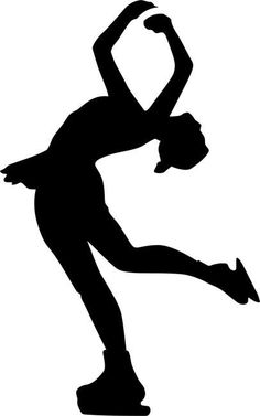 figure skater silhouette figure skaters silhouette at getdrawings free download skater figure silhouette