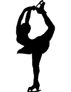 figure skater silhouette figure skaters silhouette at getdrawingscom free for silhouette figure skater