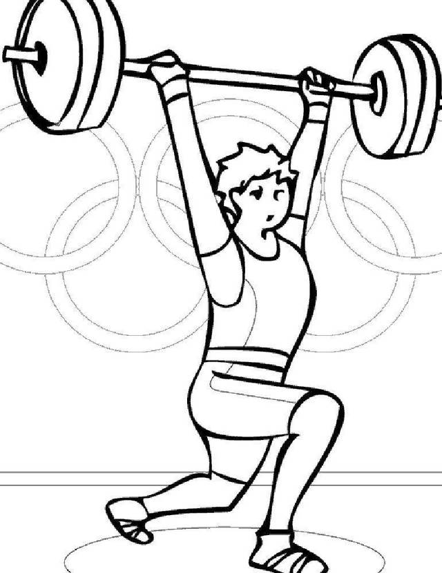 fitness coloring pages for kids exercise coloring pages at getcoloringscom free coloring fitness for kids pages