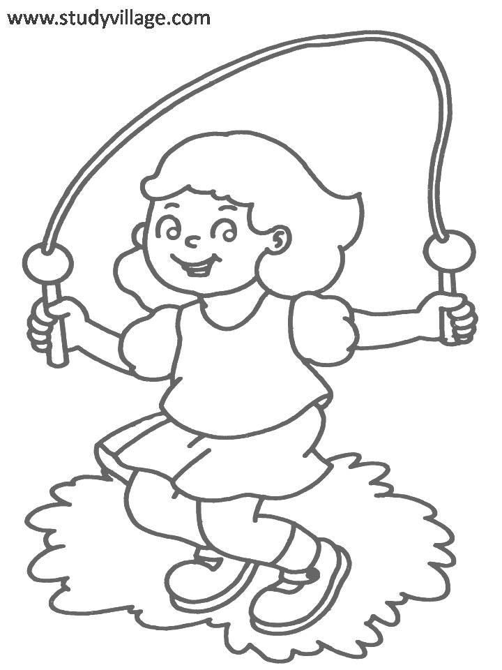 fitness coloring pages for kids exercise coloring pages for preschoolers at getcolorings for pages coloring kids fitness