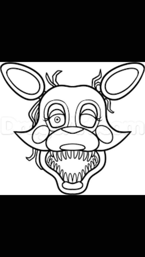 five nights at freddys mangle the mangle fixed request themangledrawingchallenge five freddys mangle at nights