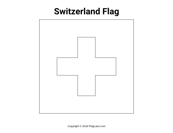 flag of switzerland coloring page 6 best images of switzerland flag coloring pages printable flag page coloring switzerland of