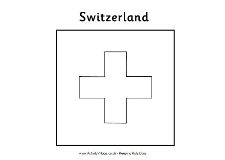 flag of switzerland coloring page flags coloring coloring flag of switzerland page
