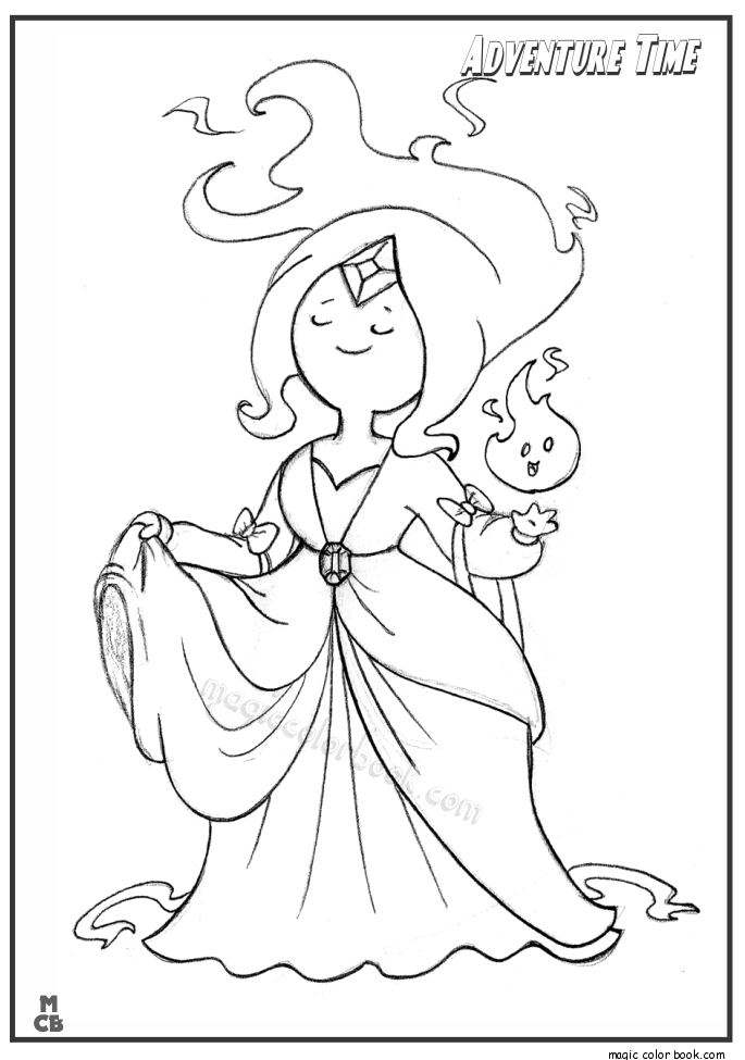 flame princess coloring pages adventure time color pages princess flame adventure time flame coloring princess pages