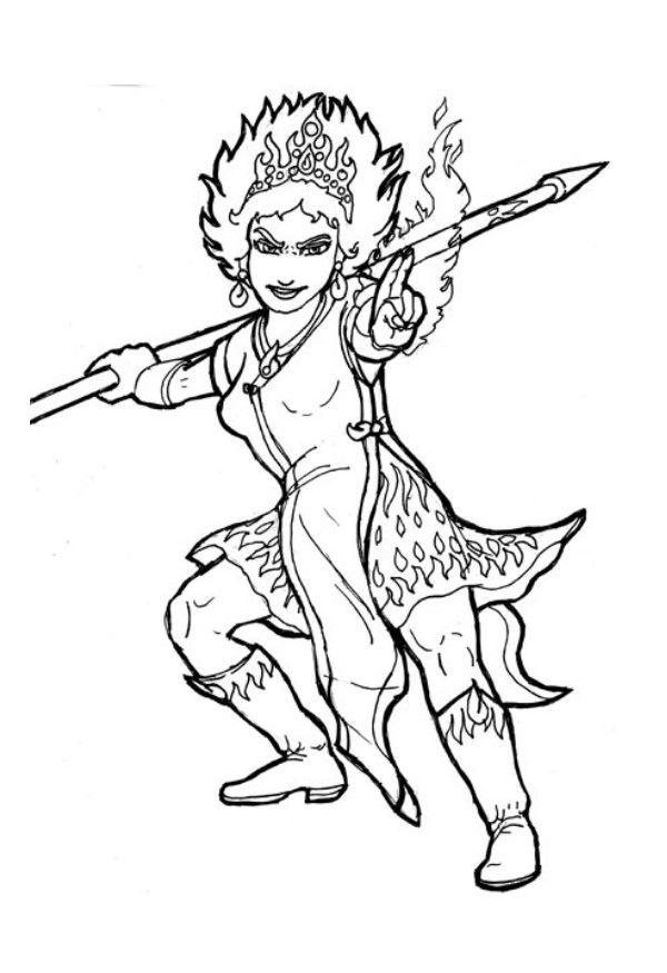 flame princess coloring pages coloring page fire queen img 6034 coloring princess pages flame