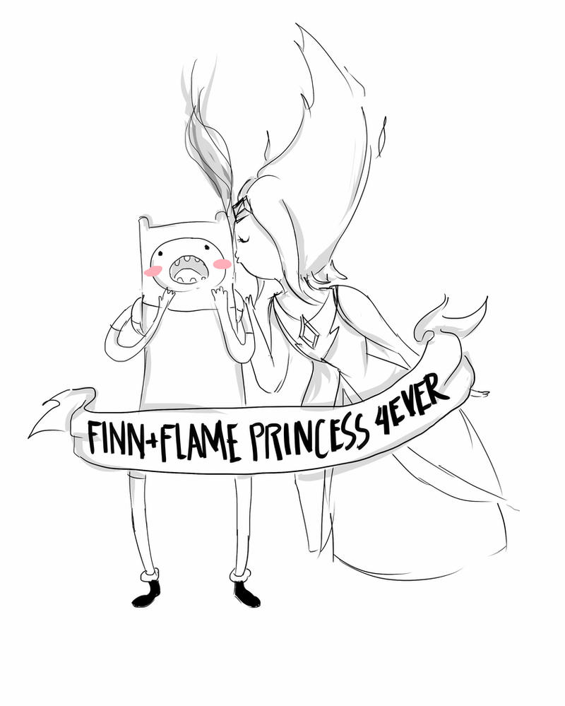 flame princess coloring pages finn flame princess 4ever by doodadae on deviantart princess flame pages coloring