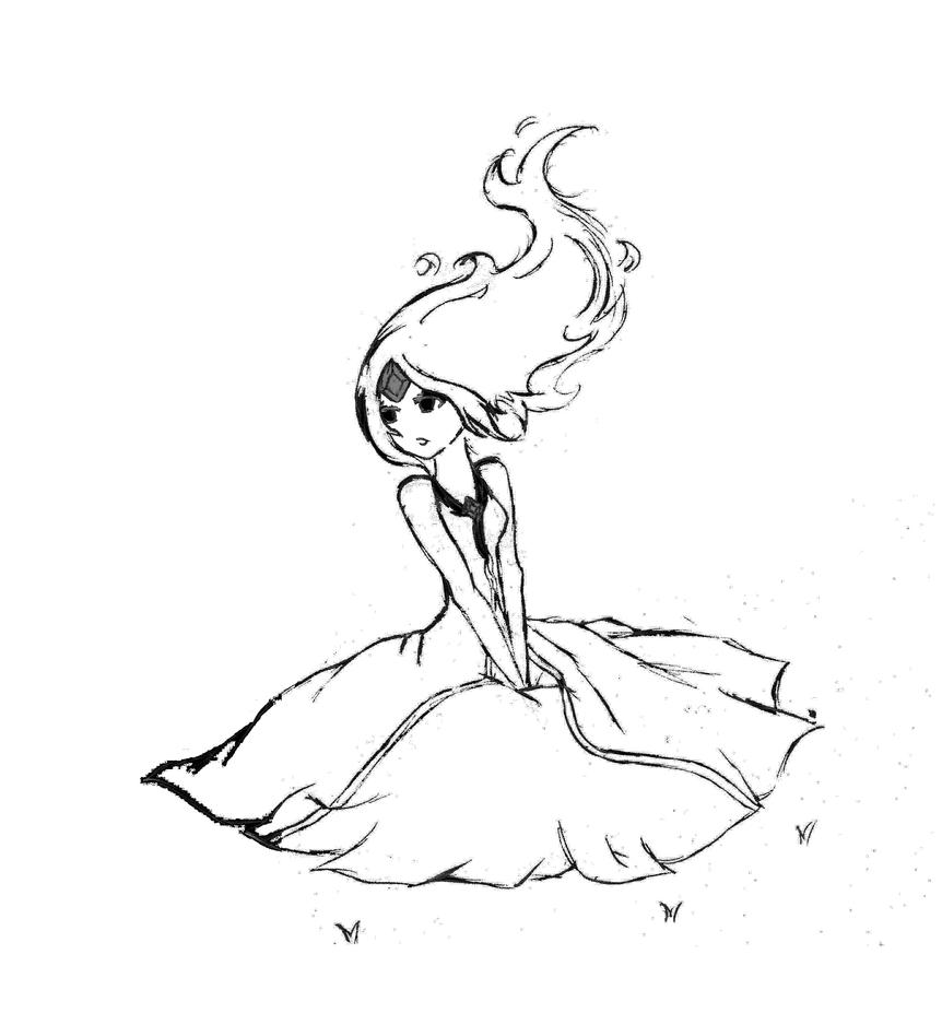 flame princess coloring pages flame princess adventure time by polynesiangirl on deviantart princess pages flame coloring