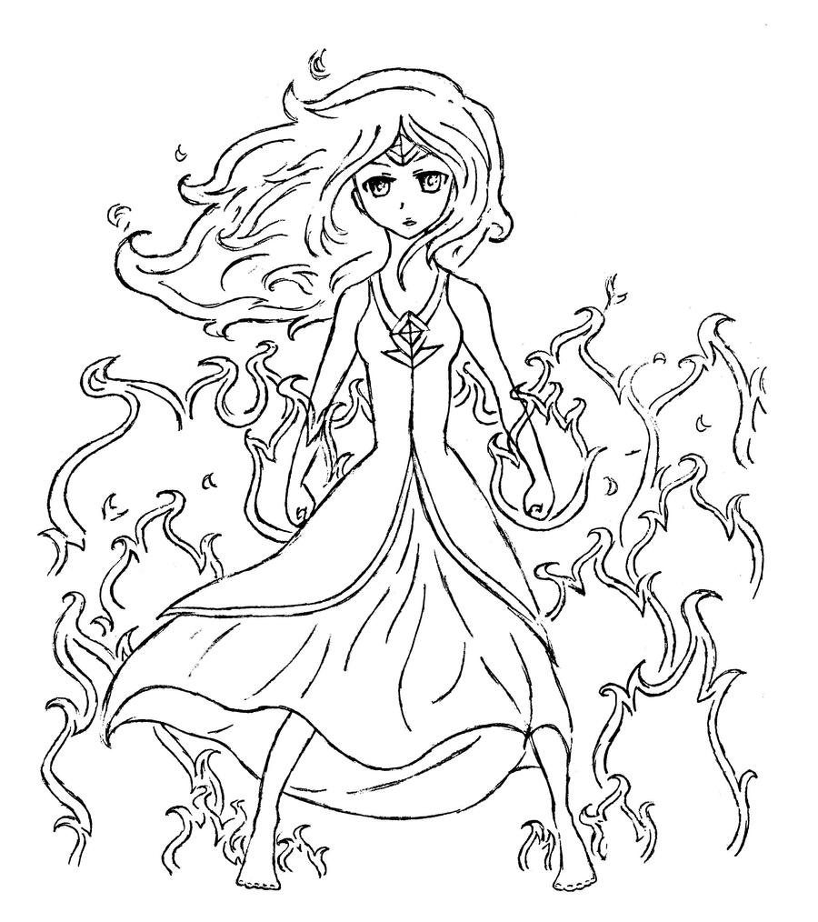 flame princess coloring pages flame princess by polynesiangirl on deviantart flame coloring princess pages