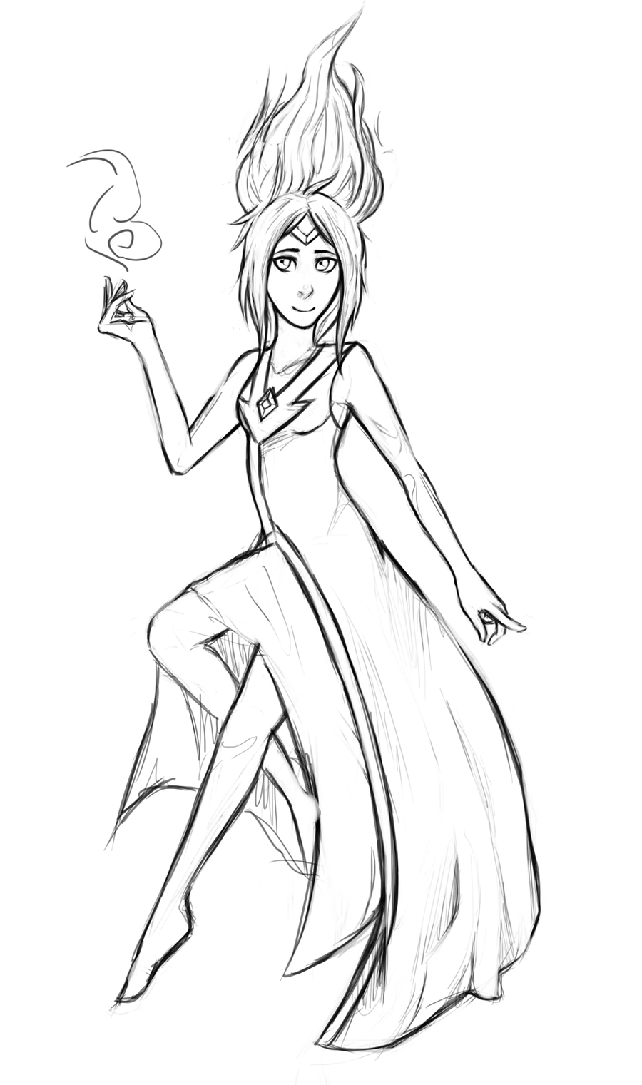 flame princess coloring pages flame princess sketch by hopelessparadox on deviantart flame pages princess coloring
