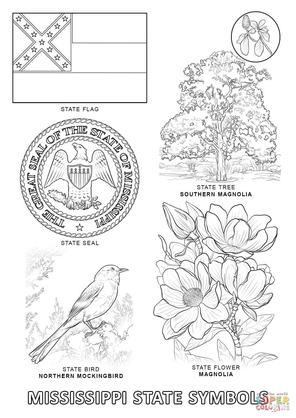florida state symbols coloring pages 10 florida state symbols coloring pages top free state pages coloring symbols florida