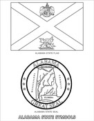 florida state symbols coloring pages state of florida symbols worksheet printable worksheets state pages florida coloring symbols