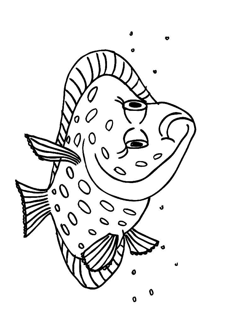 flounder coloring pages flounder coloring pages free printable flounder coloring pages flounder coloring