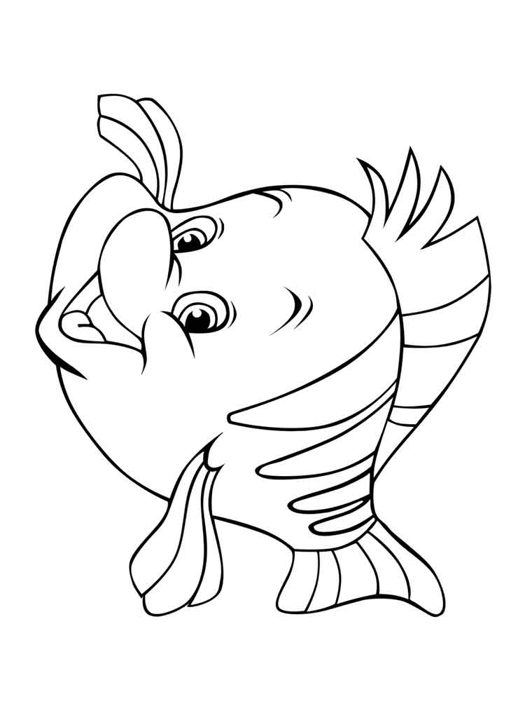 flounder coloring pages top 25 free printable fish coloring pages online coloring flounder pages