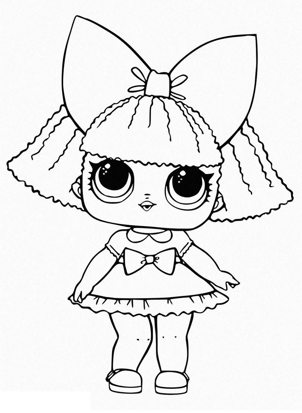 flower child lol coloring page flower child series 3 lol surprise doll coloring page page child lol coloring flower