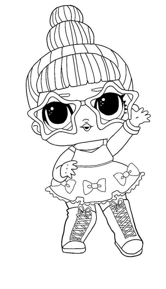 flower child lol coloring page free printable lol surprise hairgoals coloring pages in flower lol child coloring page