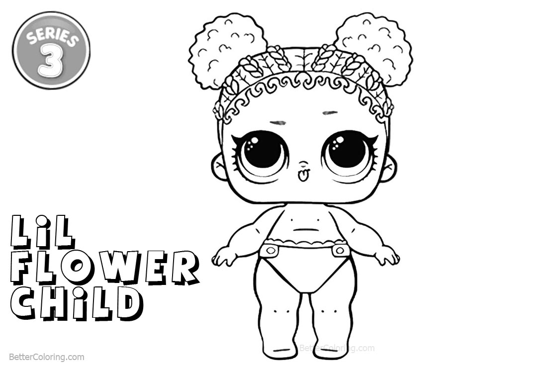 flower child lol coloring page lil flower child coloring page libros para pintar child page coloring flower lol