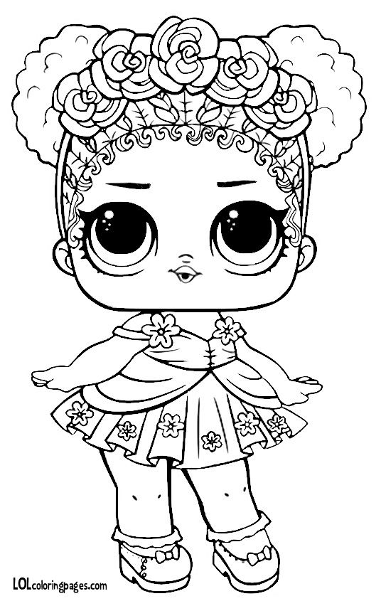 flower child lol coloring page lol coloring pages series 3 flower child free printable flower child page coloring lol