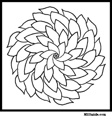 flower pattern to color floral pattern coloring page free printable coloring pages color to pattern flower
