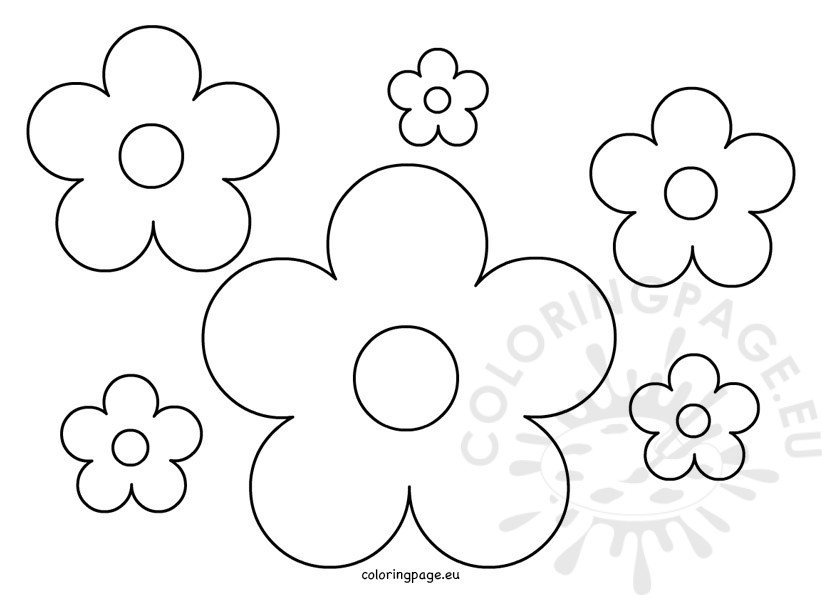 flower pattern to color flower pattern coloring pages at getdrawings free download pattern flower to color