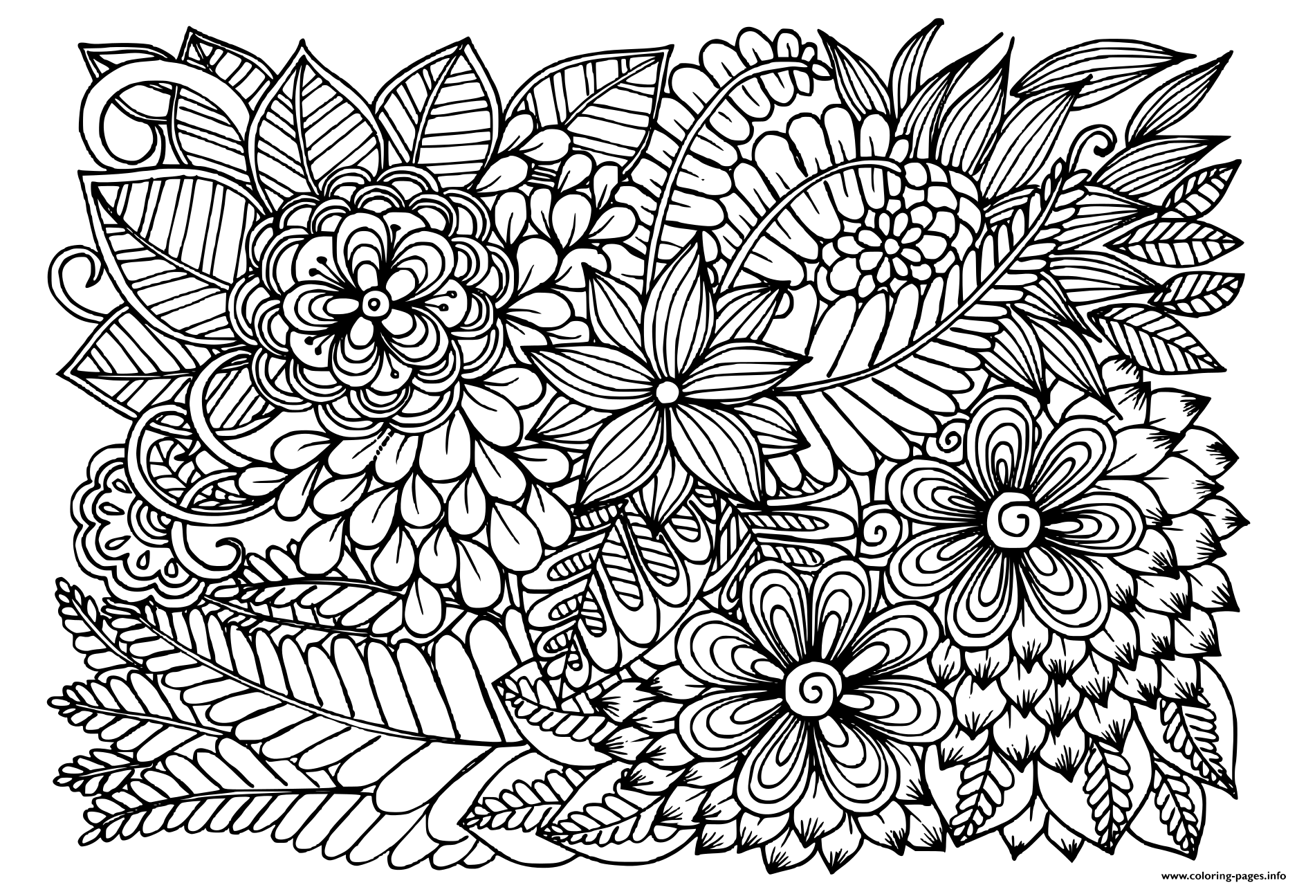 flower pattern to color simple flower mandala coloring pages free printables to flower pattern color