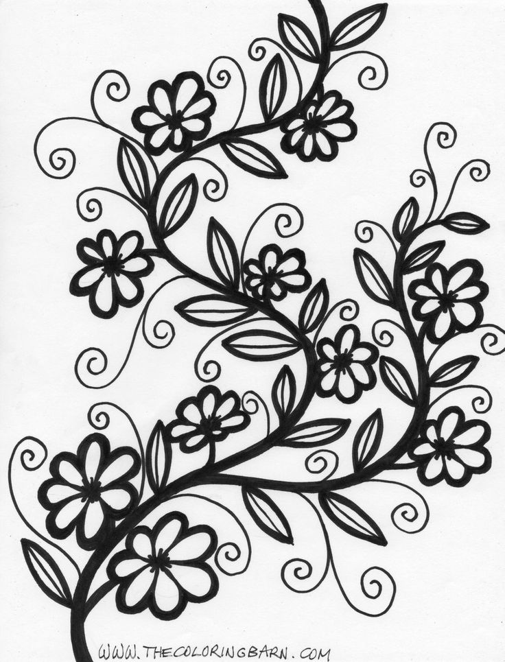 flower pattern to color tulip coloring pages download and print tulip coloring pages pattern to flower color