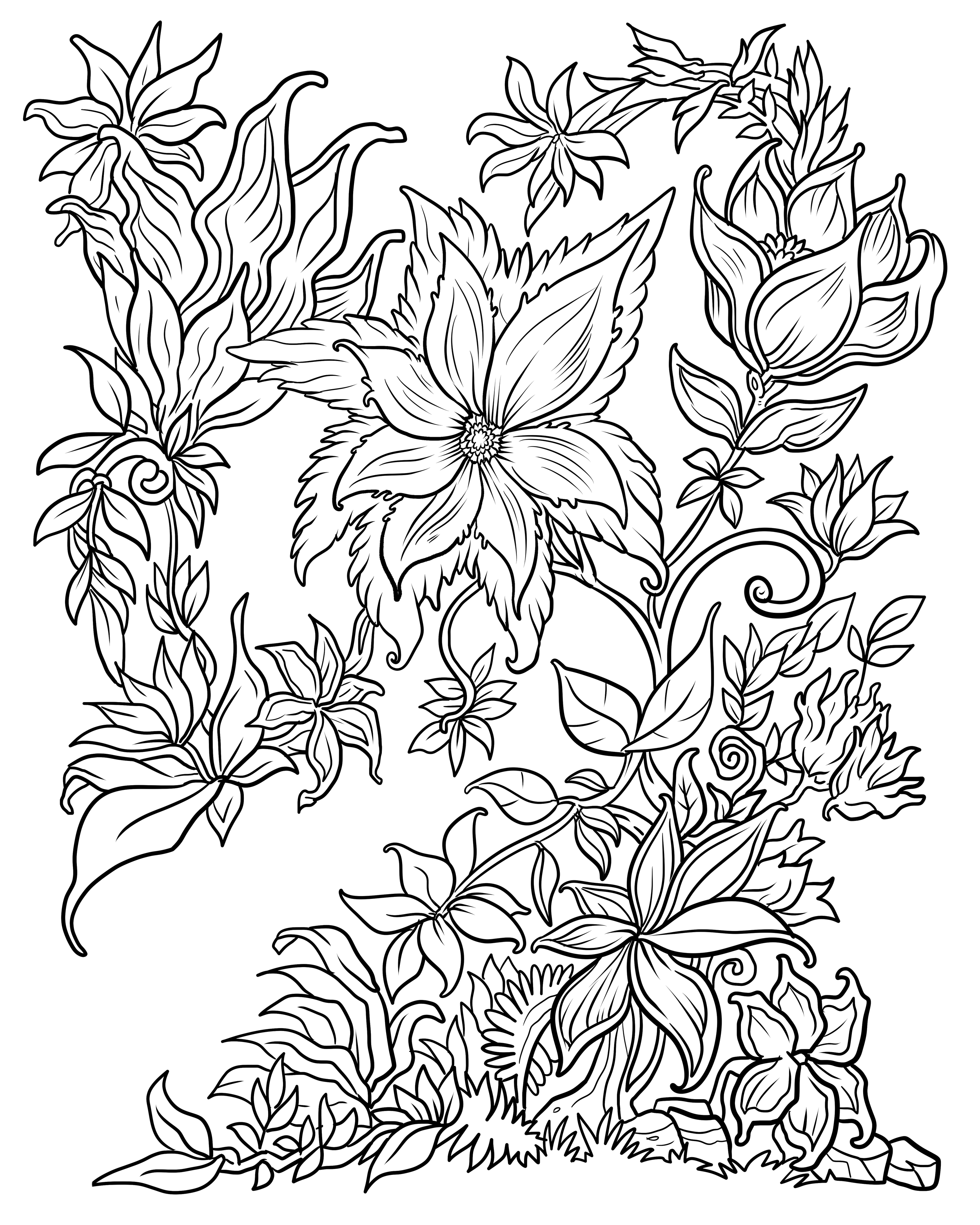 flower printable coloring sheets floral coloring pages for adults best coloring pages for coloring printable flower sheets
