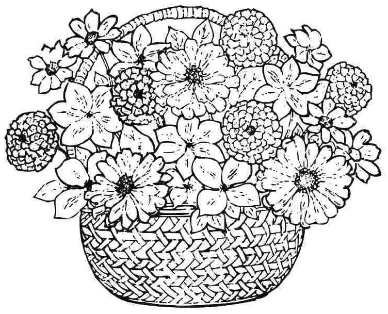 flowers you can print and color free flowers coloring book pages you can print and color you can flowers print and color