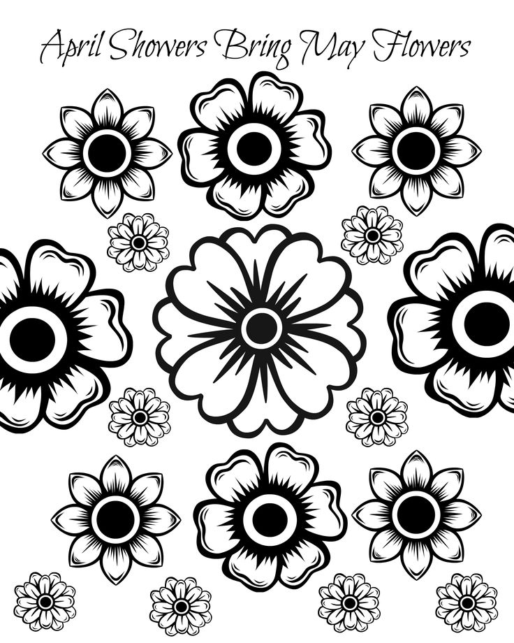 flowers you can print and color free printable may flowers adult coloring page flower color can you and print flowers