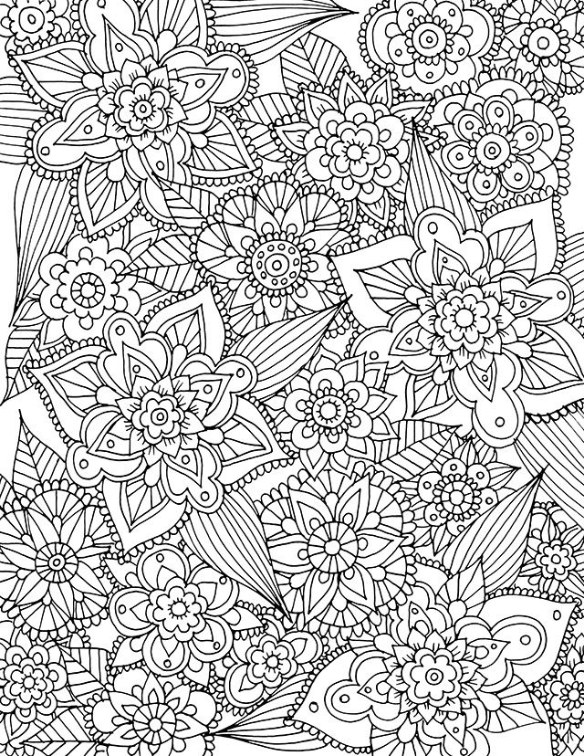 flowers you can print and color free spring coloring page download spring coloring pages you color flowers and can print