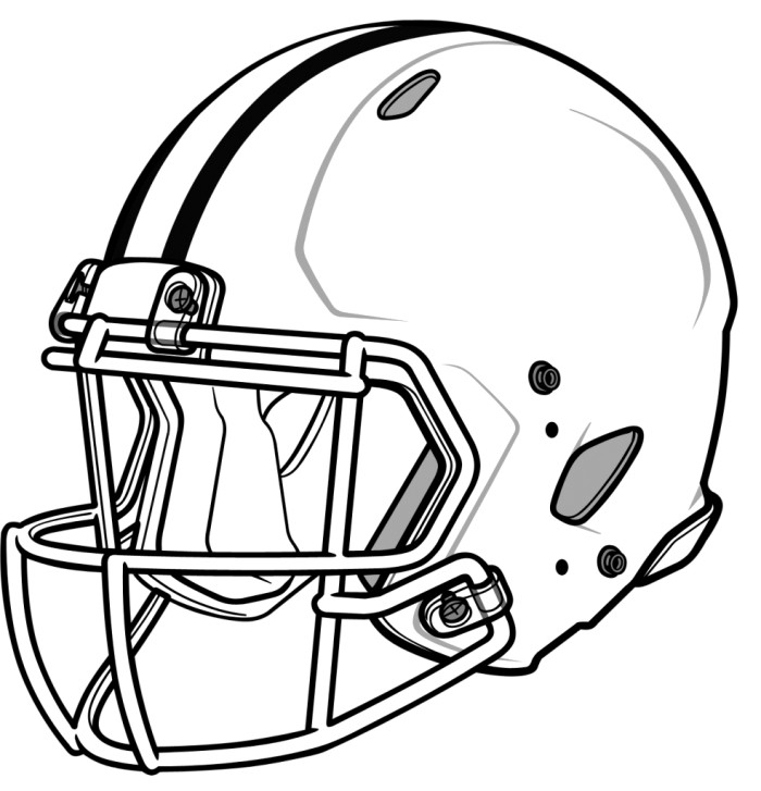football helmets to color 25 creative picture of football helmet coloring page to football helmets color
