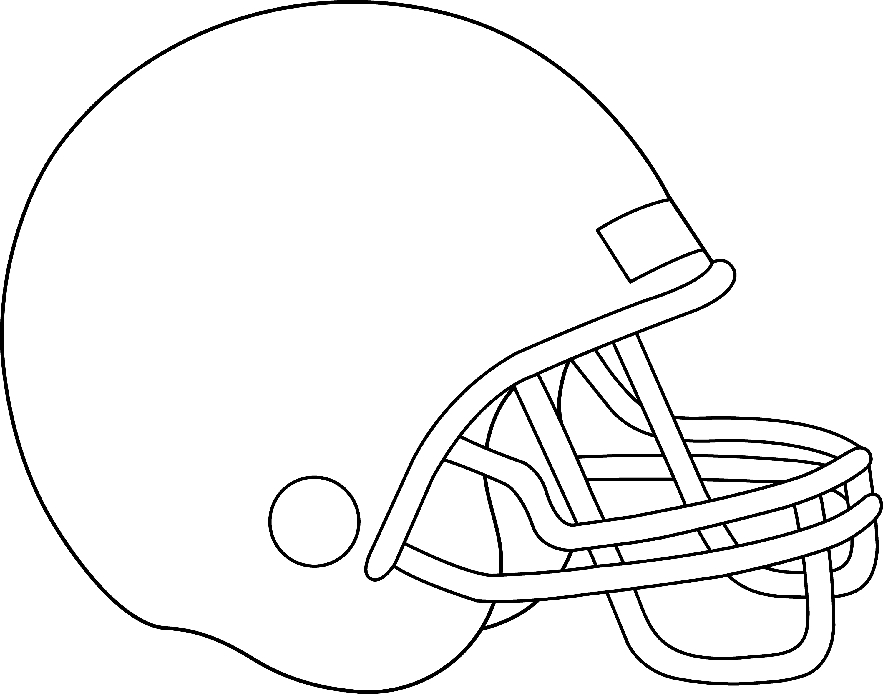 football helmets to color blank football helmet for coloring free clip art football to helmets color