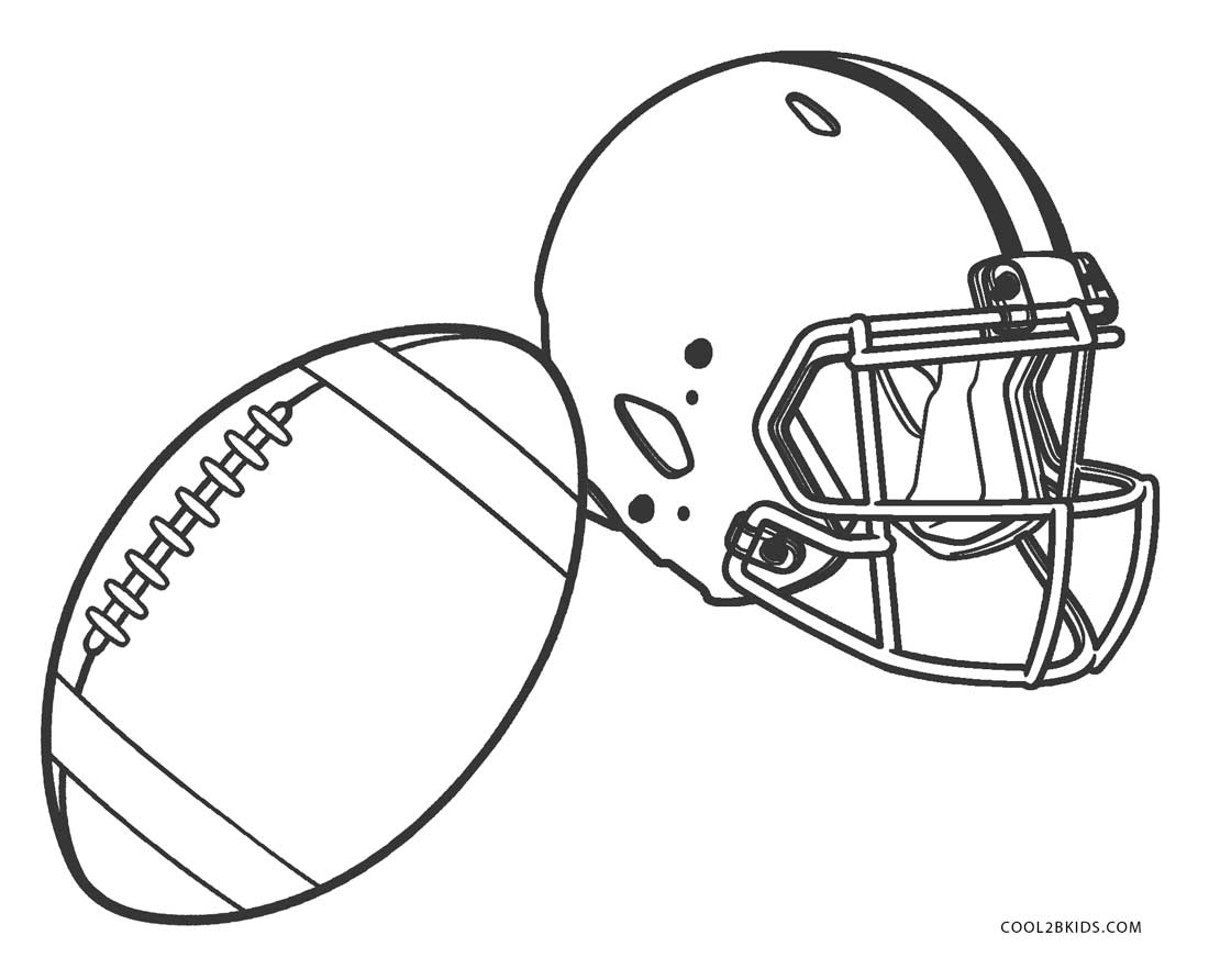 football helmets to color football coloring pages for kids in 2020 football football to color helmets