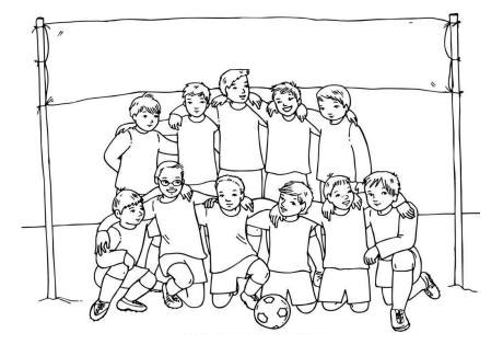 football images to colour coloring pages for boys free download to colour images football