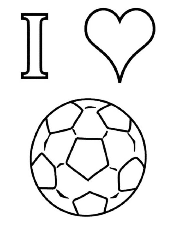 football images to colour football coloring pages for kids football images to colour