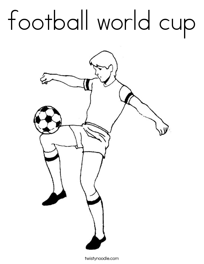 football images to colour football world cup coloring page twisty noodle colour images to football