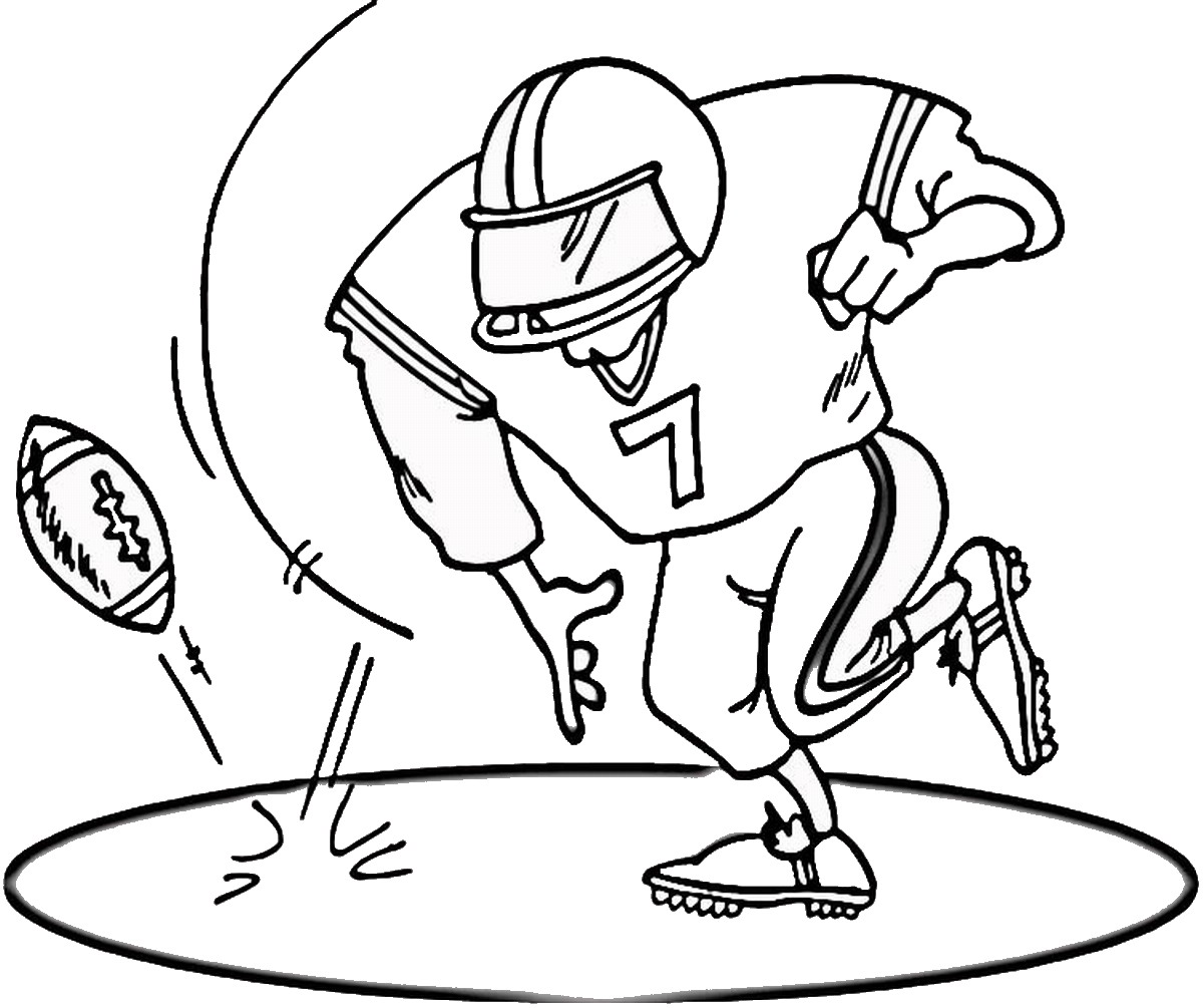 football images to colour printable football player coloring pages for kids to colour images football