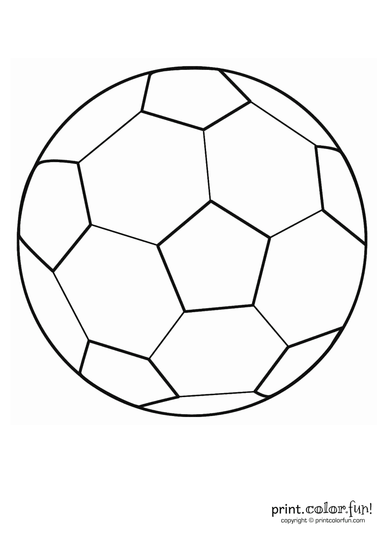 football images to colour soccer ball coloring page print color fun colour football to images