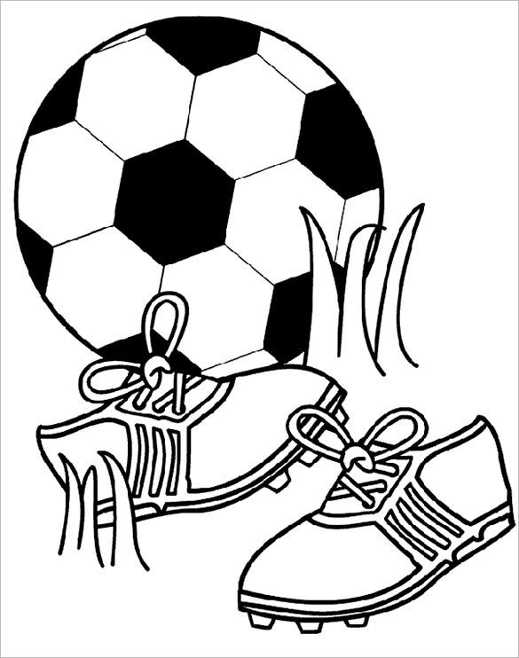football images to colour soccer players free coloring pages football colour to images