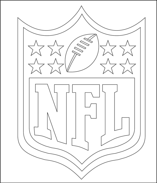 football logos coloring pages nfl and logo of many teams coloring pages coloring pages logos football coloring pages