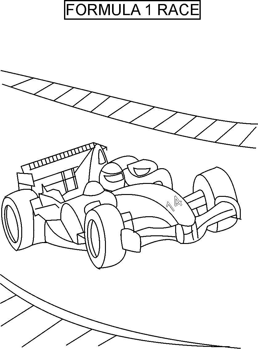formula 1 coloring pages formula one race coloring printable page for kids pages formula 1 coloring