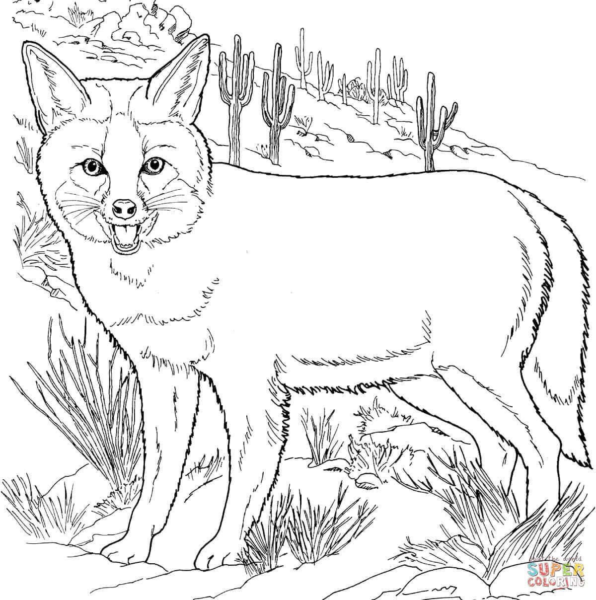 fox animal coloring pages african animal template animal templates free pages coloring fox animal