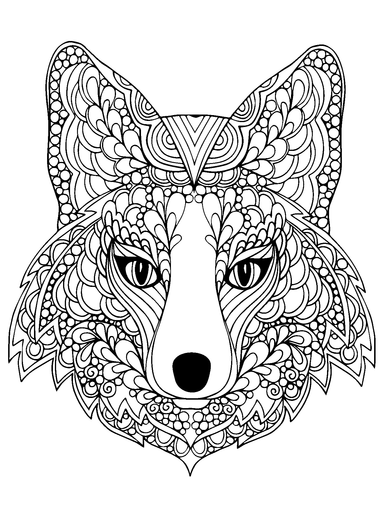 fox animal coloring pages desert fox coloring pages netart fox coloring pages animal