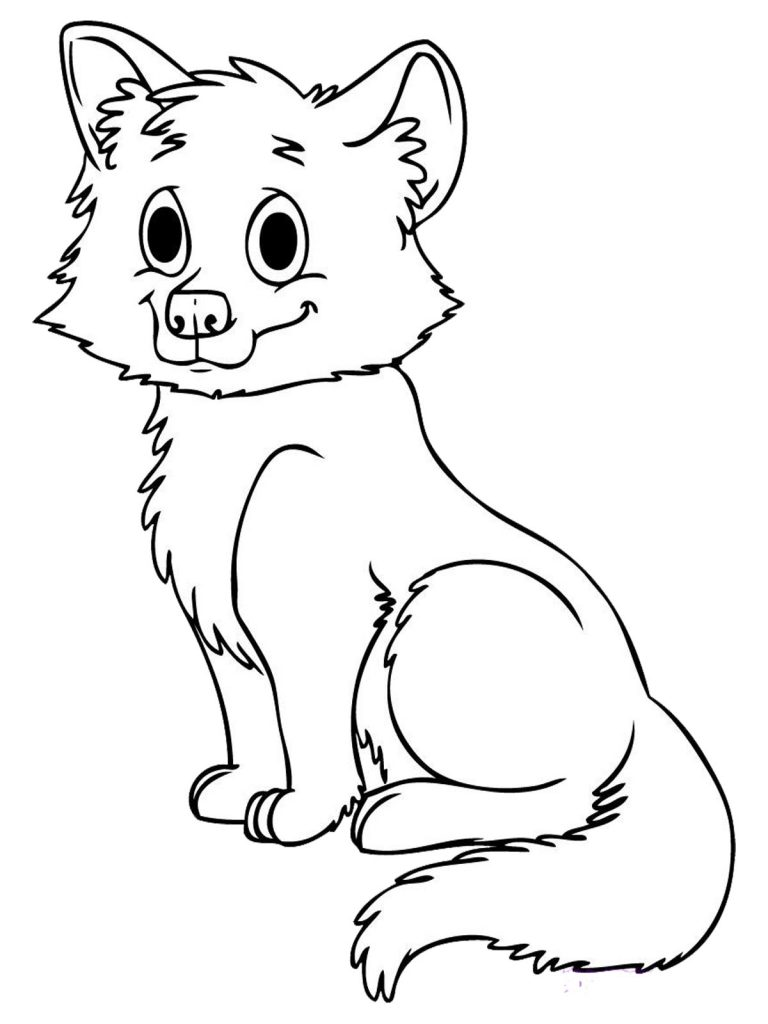 fox animal coloring pages free fox coloring pages pages coloring animal fox