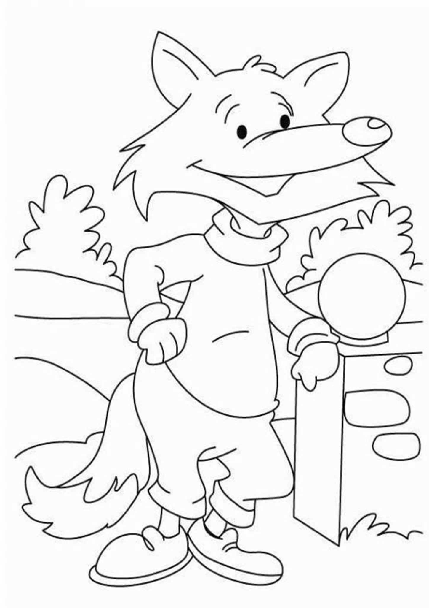 foxes coloring pages free easy to print fox coloring pages tulamama coloring pages foxes