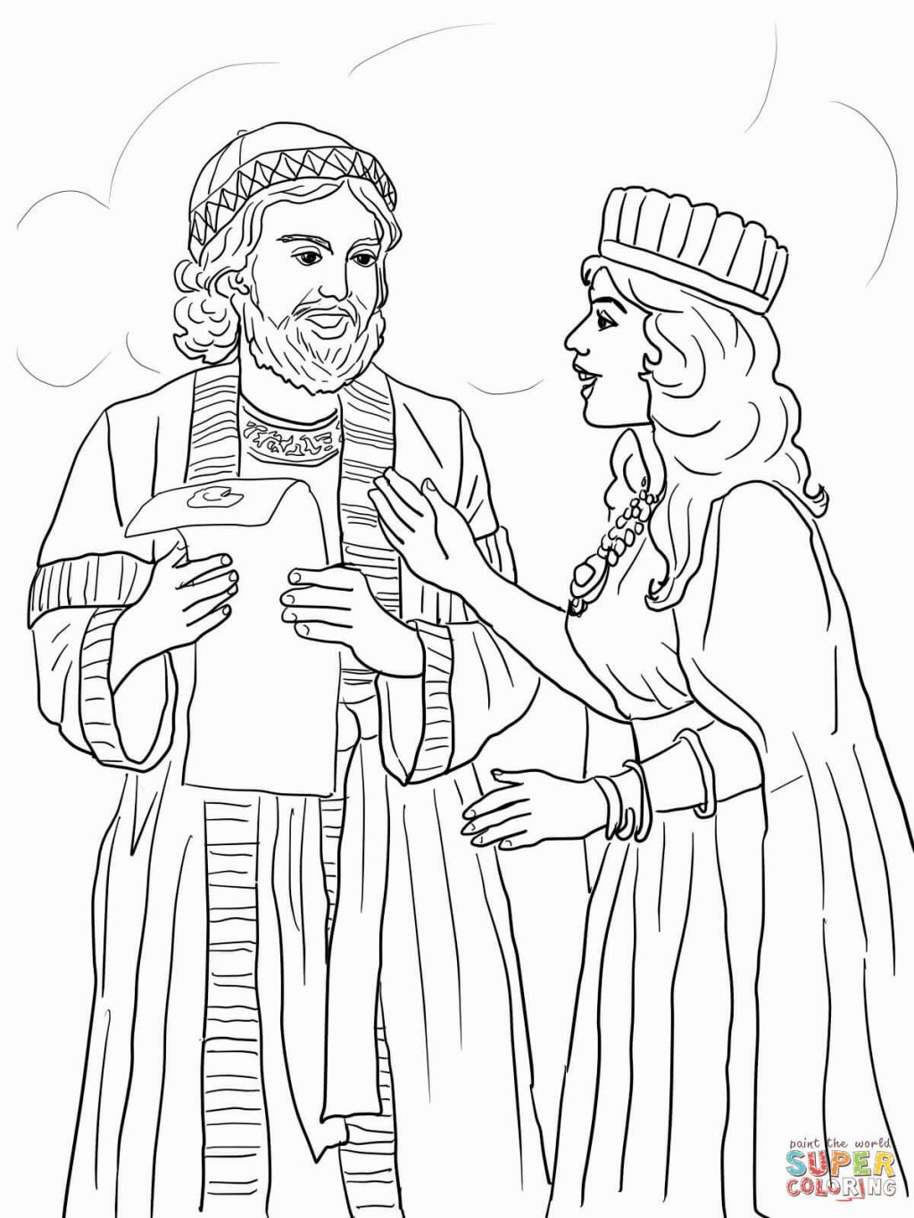 free bible coloring pages queen esther queen esther bible coloring pages with images bible esther coloring pages free queen bible