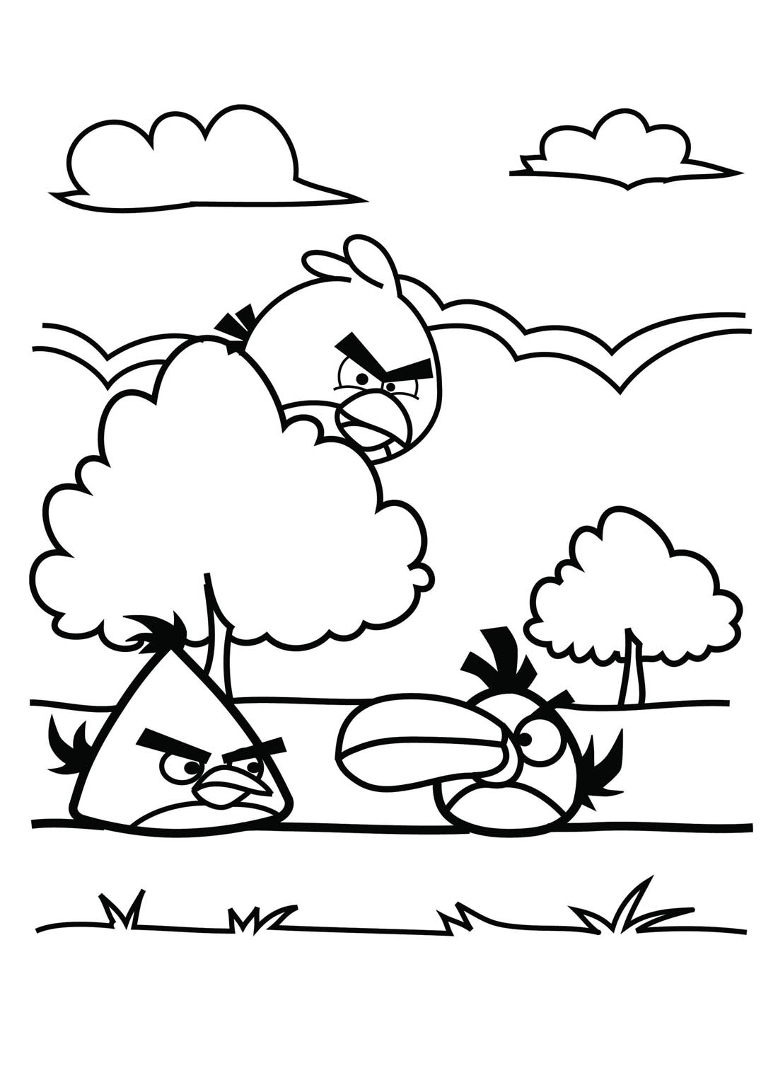 free bird coloring pages angry birds to print for free angry birds kids coloring pages bird coloring free