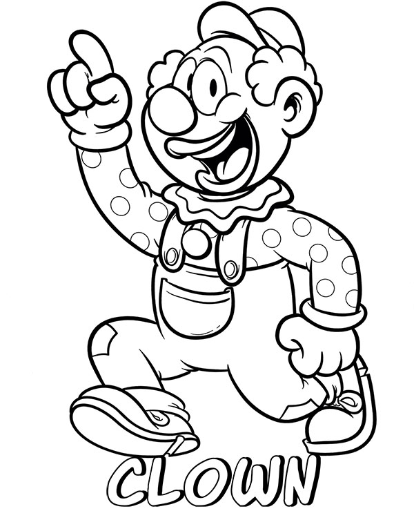 free clown coloring pages clown clipart outline clown outline transparent free for free coloring pages clown