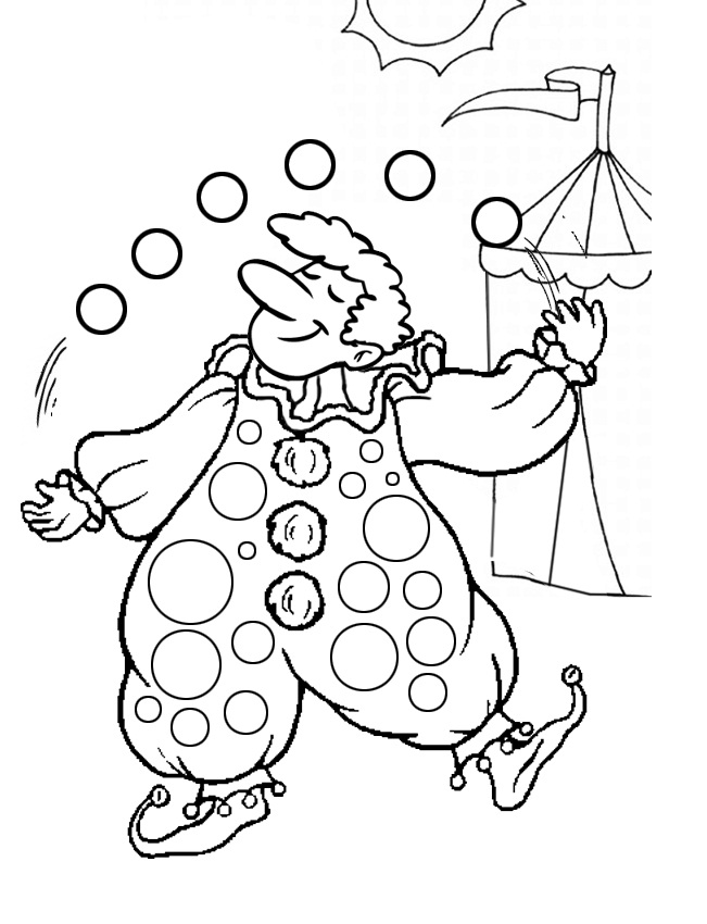 free clown coloring pages free printable clown coloring pages for kids clown coloring free pages